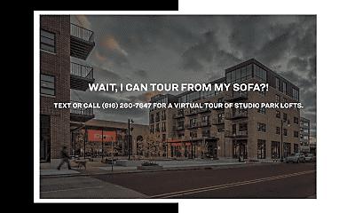 Community Signage, Studio Park, 2