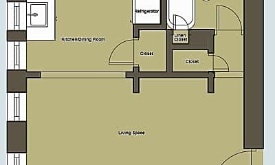 Kitchen, 1630 Holman St, 2