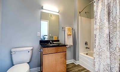 Bathroom, The Clubhouse Apartments, 2