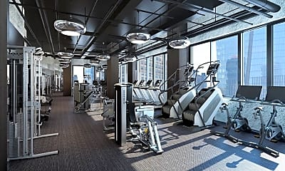 Fitness Weight Room, 517 W 36th St, 2