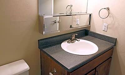 Bathroom, Antero Apartments, 2