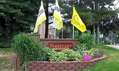 Community Signage, Shakertown Apartments, 0