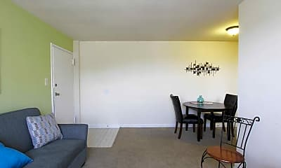 Living Room, Huntwood Courts, 1