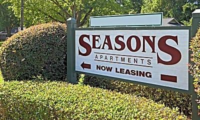Community Signage, Seasons Apartments, 2