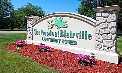 Community Signage, The Woods at Blairville, 2