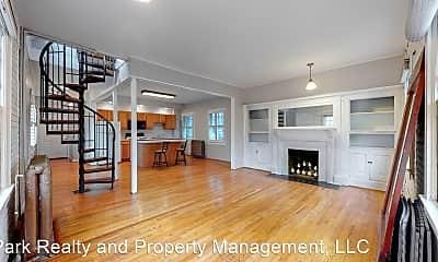 Living Room, 1100 E 16th Ave #2, 1