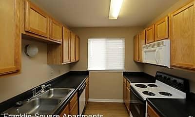 Kitchen, Franklin Square Apartments, 2