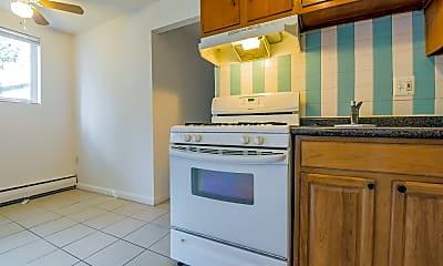 Kitchen, Jason Court Apartments, 1