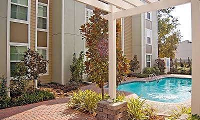 Pool, Willowood Apartments, 2