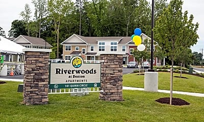 Community Signage, Riverwoods at Denton, 0