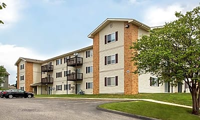 Building, Valley View Apartments, 1