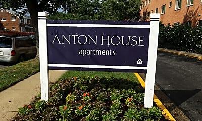 Anton House apartments, 1