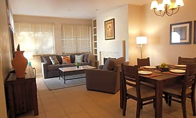 Living Room, 7700 E Gainey Ranch Rd 104, 0