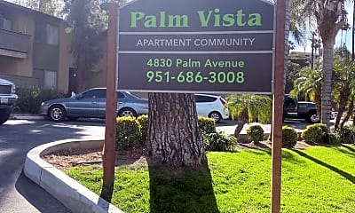 Community Signage, 4830 Palm Ave, 0