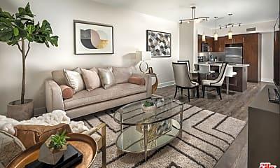Living Room, 1714 N McCadden Pl 3401, 1