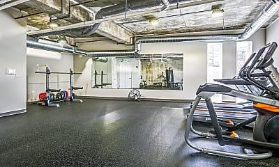 Fitness Weight Room, Walker's Landing, 2