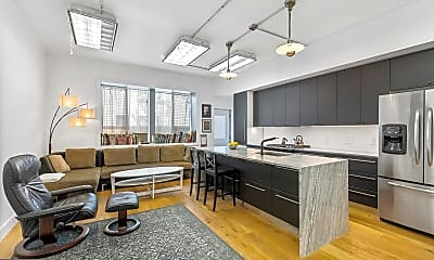 Living Room, 2020 E Fletcher St 1 & 2, 1