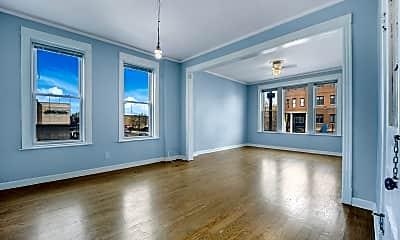 Living Room, 2252 N Western Ave 2F, 1