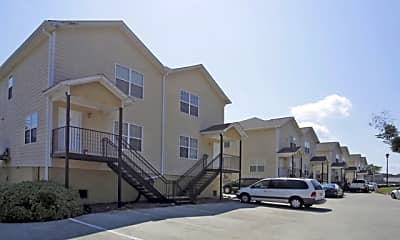 Building, College Station Apartments, 2