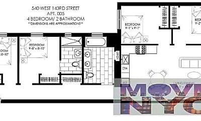 Kitchen, 540 W 143rd St, 2