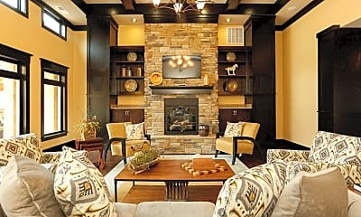 Living Room, Tryon Park at Rivergate, 1
