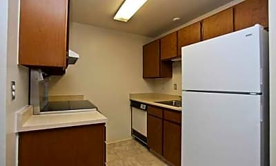 Kitchen, Maples Apartments, 2