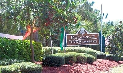 Landscaping, Regency Oaks Apartments, 0