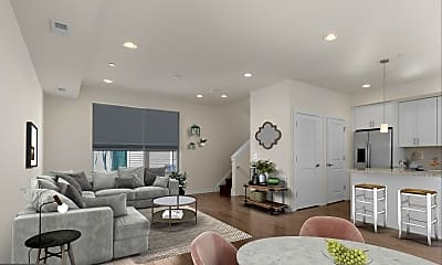 Living Room, 2118 Kensington Walk 28, 1