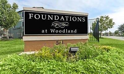 Community Signage, Foundations at Woodland, 1
