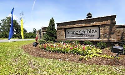 Community Signage, Stone Gables, 2