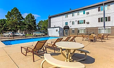 Pool, Eagleview Apartments, 0