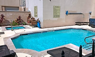 Pool, 2101 Church Street Apartments, 2