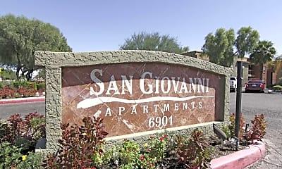 Community Signage, San Giovanni, 0