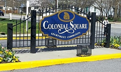 Community Signage, Colonial Square, 1