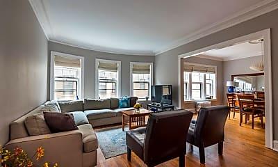 Living Room, 832 Michigan Ave, 1