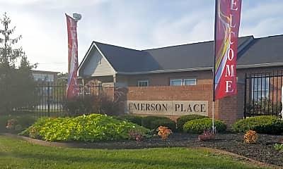 Building, Emerson Place Apartments, 1