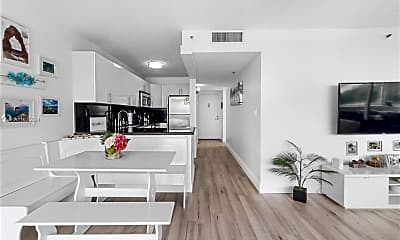 Kitchen, 1700 NW N River Dr 409, 1