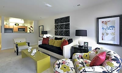 Living Room, Hayleigh Village Apartments, 1