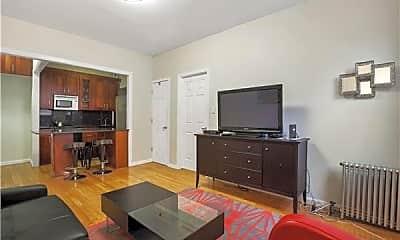 Living Room, 403 W 57th St, 2