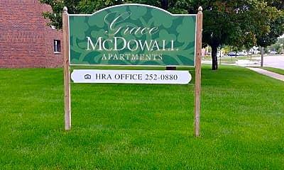 Grace McDowall Apartment, 1