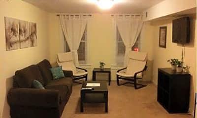 Living Room, 1017 S Charles St, 0