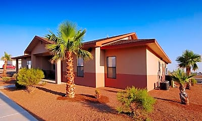 Building, Desert Palms, 1