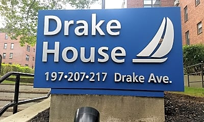 DRAKE HOUSE, 1