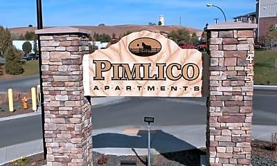 Community Signage, Pimlico, 1