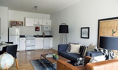 Living Room, 8 Street Apartments, 0