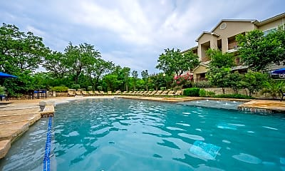 Pool, Pecan Springs Apartments, 0