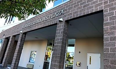 Alberta Simmons Plaza, 1