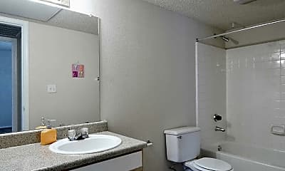 Bathroom, Garden Gate Apartments, 2