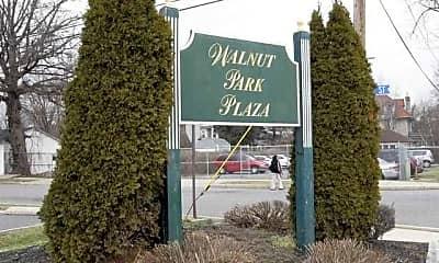 Community Signage, Walnut Chestnut Park Plaza Apartments, 1