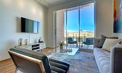 Living Room, 5315 E High St 305A, 0